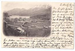 MALOYA: Teilansicht Mit Kulmhotel 1904 - GR Grisons