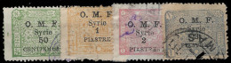 YT 74, 75, 78 Et 79 - Syrie (1919-1945)