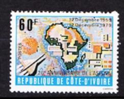COTE D IVOIRE N� 534 NEUF**  SANS TRACE DE CHARNIERE