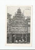 CAFE RESTAURANT DE GOUDEN ZON    F HESSLING  MIDDELBURG 1930 - Middelburg