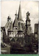 Michelstadt, Rathaus, 1958Verlag: -------------,- POSTKARTEFrankatur,  Stempel, --------- 2.5.58Maße:14,5  X 10,5 CmErha - Michelstadt