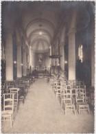 VIEUSART-INTERIEUR DE L'EGLISE-CARTE-PHOTO-ENVOYEE-CACHET-CORROY-LE-GRAND-1947-DOCUMENT-RARE-VOYEZ 2 SCANS ! ! - Chaumont-Gistoux