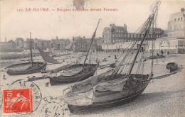LE HAVRE - Barques échouées Devant Frascati - Le Havre