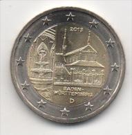 ALLEMAGNE - 2€ Commémorative 2013 J - UNC - Neuve - Duitsland