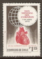 CHILI     -      Mois Mondial Du COEUR    -   Neuf * - Enfermedades