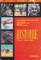 Documentation Scolaire - 1984 - HISTOIRE GUERRE 1940-45 - éditions ARNAUD - Histoire