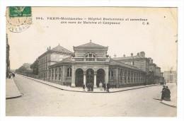 CPA 75 PARIS 18 Eme Montmartre Hopital Bretonneau Et Carrefour Des Rues De Maistre Et Carpeaux - Distretto: 18