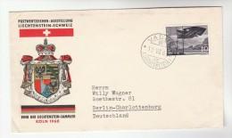 1960 LIECHTENSTEIN Stamps EVENT COVER SWISS - LEICHTENTEIN COLLECTORS PHILATELIC EXHIBITION - Liechtenstein