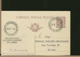 ITALIA - MILANO - ESPOSIZIONE INTERNAZIONALE FONDERIE   1931 - Fabbriche E Imprese