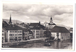 SOLOTHURN: Teilansicht Mit Restaurant Landhaus, Oldtimer 1945 - SO Soleure