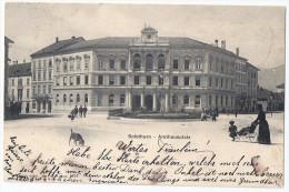 SOLOTHURN: Amthausplatz Animiert, Kinderwagen, Hund 1902 - SO Soleure