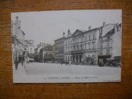 """Chalon-sur-saône , Place De L'hôtel De Ville """" Carte Animée """""""" - Chalon Sur Saone"""