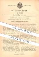 Original Patent - Ad. Deiters , Charlottenburg 1905 , Beleuchtung Für ärztliche Zwecke , Arzt , Zahnarzt , Licht , Linse - Documents Historiques