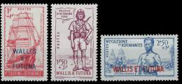 YT 87 Au 89 - Wallis-Et-Futuna