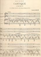 GABRIEL FAURE CANTIQUE DE JEAN RACINE A MONSIEUR CESAR FRANCK - Partitions Musicales Anciennes