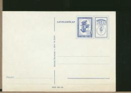 MAGYAR - Cartolina Intero Postale - MECCANICA - MSZE -   FRESA  DA  BANCO - Fabbriche E Imprese