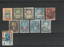 Thailand - Old Stamps - Lot Of Used Stamps - Timbres