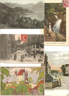 LOT DE  500 CARTES POSTALES SUISSE (1900/1960) / . LOT OF 500 POSTCARDS SWITZERLAND ( 1900/1960). - 500 Cartoline Min.