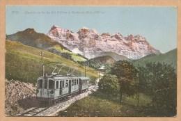 Chemin De Fer Du Val D'Illiez Et Dent Du Midi - Voyagée 1913 - VAL D' ILLIEZ - VS Valais
