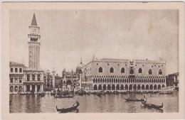 Italie - Venezia - Piazzetta S. Marco Dal Mare E Palazzo Ducale - Editeur: Scrocchi N° 4460.14 - Venetië (Venice)