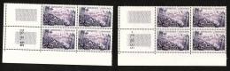 France - Coins Datés  7/10/55 Et 19/6/56 Du N° 1041 - Neufs ** - Le Mont Pelé (Martinique) - 1950-1959