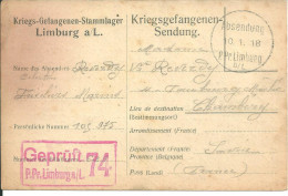 Limburg Absendung 1918 - 1914-18