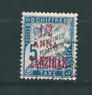 Colonies Francaise  Timbres Taxes De Zanzibar De 1897  N°1 Oblitéré - Usati