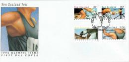 Neuseeland / New Sealand - Mi-Nr 1226/1229 FDC (K1101) - FDC