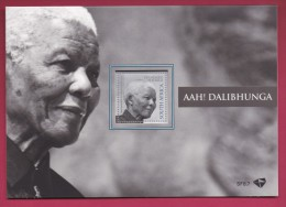 SOUTH AFRICA, 2015, MNH, Sheet Of Stamps , Mandela Special Folder And Stamp, #9396 - South Africa (1961-...)