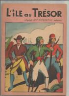 G-I-E , L��LE AU TRESOR , d�apr�s R.L STEVENSON , r�sum� , ed : Ren� Touret , d�pot l�gal n� 158 , frais fr : 2.70�