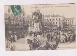 CPA DPT 06 CARNAVAL DE NICE EN 1911!! L EFFET DE LA COMETE - Carnaval