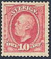 ZWEDEN 1903 10öre Oscar Koperdruk Blok/4 PF-MNH-NEUF - Suède
