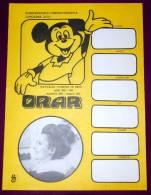Romania - horaire hebdomadaire �cole - Walt Disney - cinema - mickey mouse 1