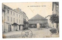 (7761-79) Mauzé - Les Halles - Mauze Sur Le Mignon