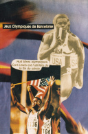 CPM BARCELONE Jeux Olypiques J.O. OLympisme Carl LEWIS Tirage Limité LARDIE Photo-montage - Cartes Postales