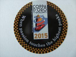 Autocollant / Sticker  Coppa D´Oro 2015 - Autocollants