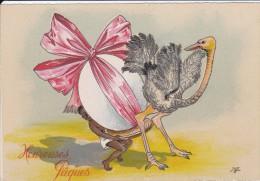 Carte Postale    BARRE & DAYEZ      HEUREUSES  PAQUES    1447 C - Pâques