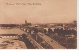 CPA Warszawa - Widok Pragi - Most Kierbedzia - Polonia