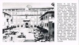 16728. Postal VATICANO. Papa Pablo VI Villa Papal CASTEL GANDOLFO - Vaticano (Ciudad Del)