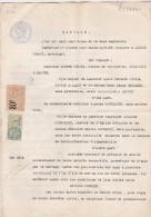 Contrat Mariage St Sebastien D'Aigrefeuille Anduze Gard - 8 Pages - Papier Timbré Spécial Filigrane 1925 Timbre Fiscal - Vecchi Documenti
