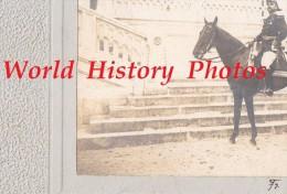 Photo Ancienne - SAUMUR - Portrait D'un Officier De Cavalerie à Identifier - Chapeau Bicorne - Francis Voelcker - War, Military