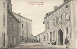 MATTAINCOURT  ( Vosges )  -  Le  Centre  Du  Village  /  Hôtel  Et  Café  Du  Centre - France