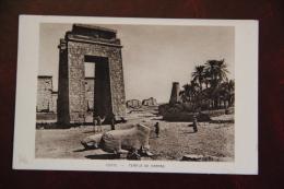 EGYPTE - Temple De KARNAK - Egypte