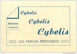 Parfums Meunier - Carte Parfumée Ancienne -  ** Cybelis ** - Un Parfum Préstigieux - Voir Scans - Perfume Cards