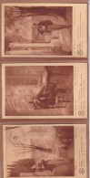 Mirèio - Mireille - 3 Cartes Postales  - Ernest Martel - Musées