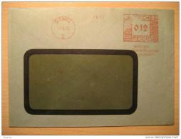 1935 Gleiwitz Meter Mail Third Reich Deutsches Empire Allemagne Deutschland Germany - Covers & Documents