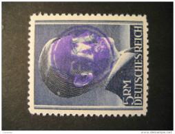 FREDERSDORF Michel 23A Perf 12 1/2 LOCAL Stamp Germany Overprinted Hitler FM Lokal Lokalausgaben - Altri