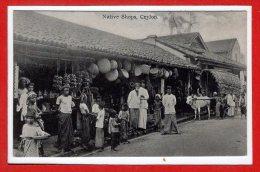 ASIE - SRI LANKA - CEYLON -- Native Shops - Sri Lanka (Ceylon)