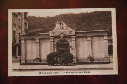 SAINT CLAUDE - Le Monument Aux Morts - Saint Claude