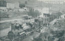 43 SAINT DIDIER LA SEAUVE TRAIN GARE CHEMIN DE FER FIRMINY ANNONAY PLM SAINT RAMBERT D'ALBON - Sonstige Gemeinden